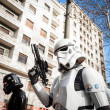 People of 501st Legion take part in Star Wars Parade in Milan, Italy — Stock Photo #39756711