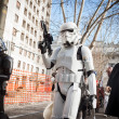 People of 501st Legion take part in Star Wars Parade in Milan, Italy — Stock Photo #39756713