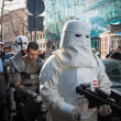 People of 501st Legion take part in Star Wars Parade in Milan, Italy — Stock Photo #39756737