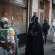 People of 501st Legion take part in Star Wars Parade in Milan, Italy — Stock Photo #39756765