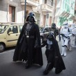 People of 501st Legion take part in Star Wars Parade in Milan, Italy — Stock Photo #39756795
