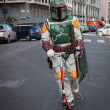 People of 501st Legion take part in Star Wars Parade in Milan, Italy — Stock Photo #39756797
