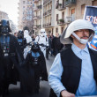 People of 501st Legion take part in Star Wars Parade in Milan, Italy — Stock Photo #39756803