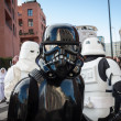 People of 501st Legion take part in Star Wars Parade in Milan, Italy — Stock Photo #39756847