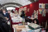 çizgi roman'ndeki festival del fumetto kongre milano, i̇talya — Stok fotoğraf