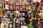 Puppets on display at Festival del Fumetto convention in Milan, Italy — Foto Stock