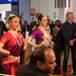 Stok fotoğraf: Indidancers performing at Bit 2014, international tourism exchange in Milan, Italy