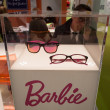 Barbie glasses on display at Mido 2014 in Milan, Italy — Stock Photo #41928821