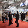 Stock Photo: People visiting Mido 2014 in Milan, Italy