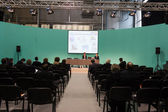 Conference at Mido 2014 in Milan, Italy — Stock Photo