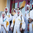 Stock Photo: Performers taking part in MilClown Festival 2014