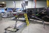 X-wing starfighter v cartoomics 2014 v miláně, itálie — Stock fotografie