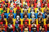 Lego minifigures at Cartoomics 2014 in Milan, Italy — Stock Photo