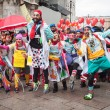 Clowns taking part in Stramilano half marathon — Stock Photo #43325393