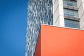 Architectural detail of a modern building — Stock fotografie