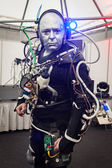 Humanoid at Robot and Makers Show — Stockfoto