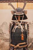 Samurai traditional armor at Orient Festival in Milan, Italy — Stock Photo