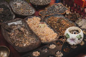 Granular incense at Orient Festival in Milan, Italy — Stock Photo