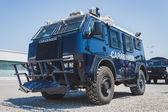 Carabinieri vehicle at Militalia in Milan, Italy — Stock Photo