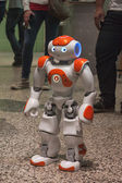 Nao robot at Wired Next Fest in Milan, Italy — 图库照片