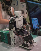Robot at Wired Next Fest in Milan, Italy — Stock Photo