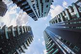 New skyscrapers at Porta Nuova in Milan, Italy — Stock Photo