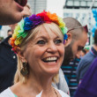 People taking part in Milano Pride 2014, Italy — Stock Photo #48946785