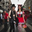 People taking part in Milano Pride 2014, Italy — Stock Photo #48947047
