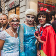 People taking part in Milano Pride 2014, Italy — Stock Photo #48947267
