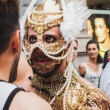 People taking part in Milano Pride 2014, Italy — Stock Photo #48947407