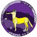 Sagittarius horoscope sign — Stock Vector #18005963