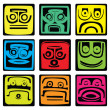 Mayan pictograms — Stock Vector #18094707