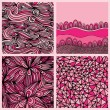 Seamless patterns — Vector de stock