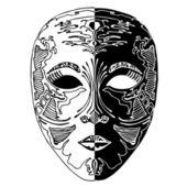 Mask illustration — Stock Vector