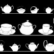Tea pots — Stock Vector #18157581