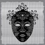 Black mask — Stock Vector #19013785