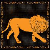 Leo horoscope sign — Stock Vector