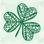Green clover — Stock Vector #19634343