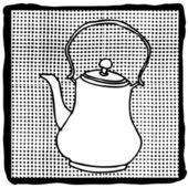 Tea pot — Stock Vector