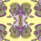Ornamental paisley bandanna — Stock Vector