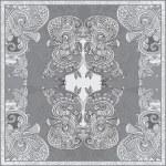 Ornamental paisley floral bandanna — Stock Vector #22490397