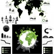 Ecology info graphics collection — Stock Vector #23656145