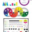 Stock Vector: Technology info graphic