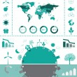 Eco info graphic — Stock Vector #32312199