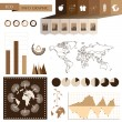 Ecology info graphic — Stock Vector