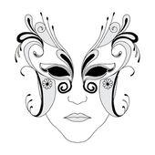 Masque — Stock Vector
