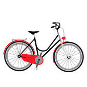 Bicycle vector illustration — Stock Vector