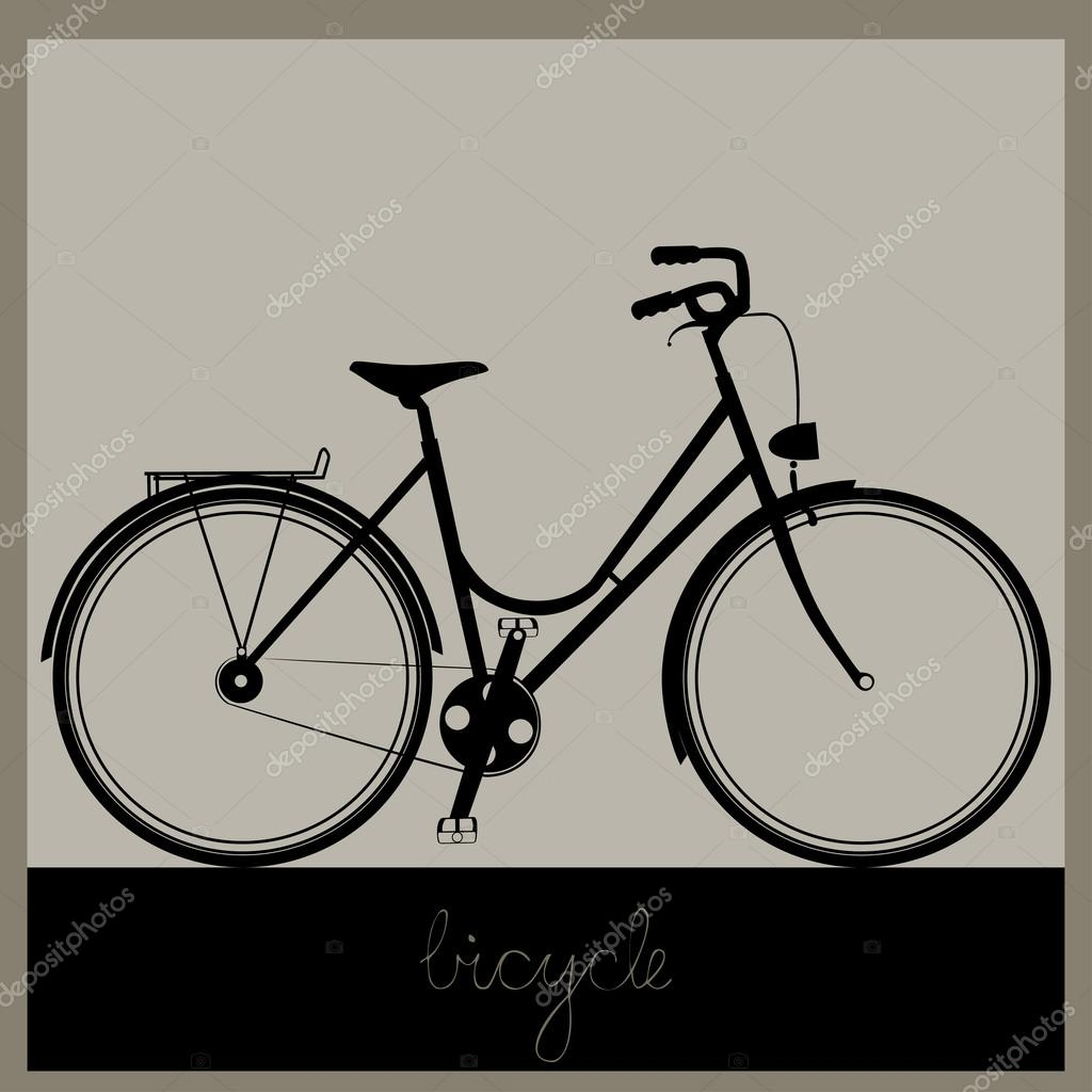 Simple bicycle illustration - photo#20