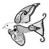 Swallow — Stock Vector