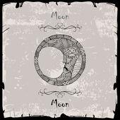 Half Moon — Stock Vector